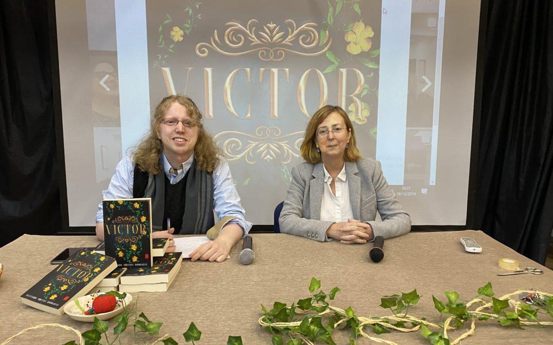 Presentación de la novela «Víctor»
